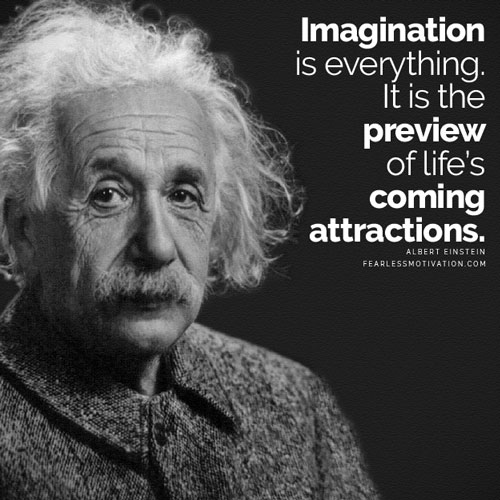This image has an empty alt attribute; its file name is albert-imagination-quotes.jpg