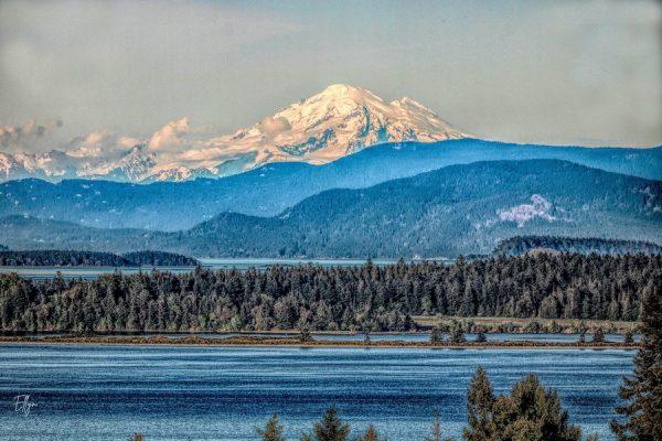 Mount Baker from Saanich