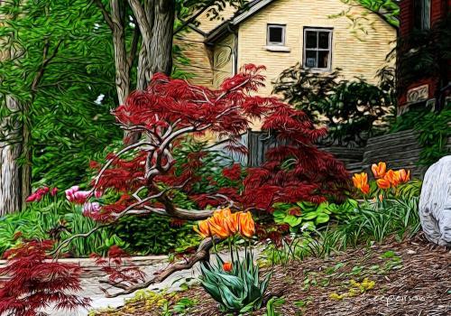 Suffolk Street garden