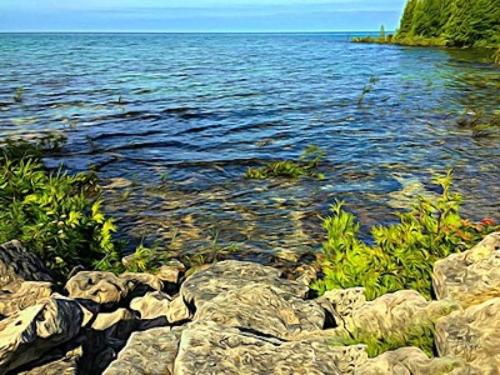 Whiskey Harbour, the Bruce Peninsula